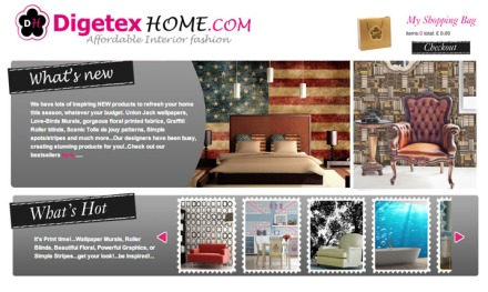 Great New Designs at Digetexhome.com