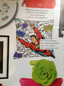 Superman cushion by DigetexHOME.com